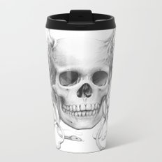 Medusa Skull Metal Travel Mug