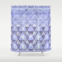 nordic Shower Curtains featuring Nordic Winter by gretzky