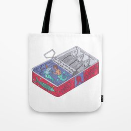 Party Sardine Tote Bag