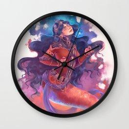 iPersian mermaid princes Wall Clock