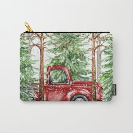 Woodland Snow Carry-All Pouch