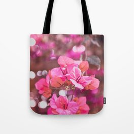 Fresh & Colourful Bougainvillea Tote Bag