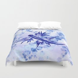 Blue Dragon Sea Slug Duvet Cover