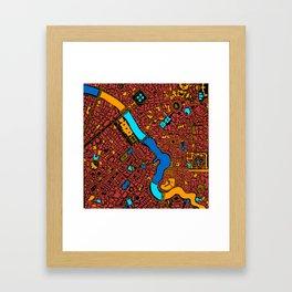 Infinite City - Autumn Framed Art Print