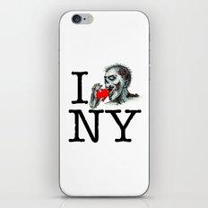I Zombie Apocalypse New York iPhone & iPod Skin