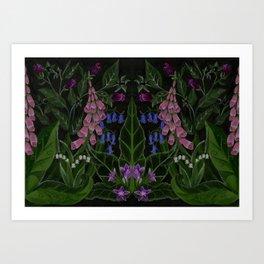 The Poison Garden - Mandragora Art Print