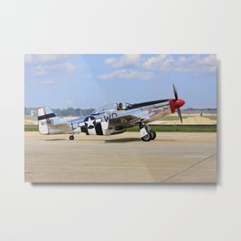 P-51D  Mustang NL751RB 413903 Andrews Air Force Base Washington Metal Print