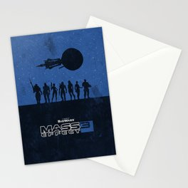 Mass Effect 3 Stationery Cards