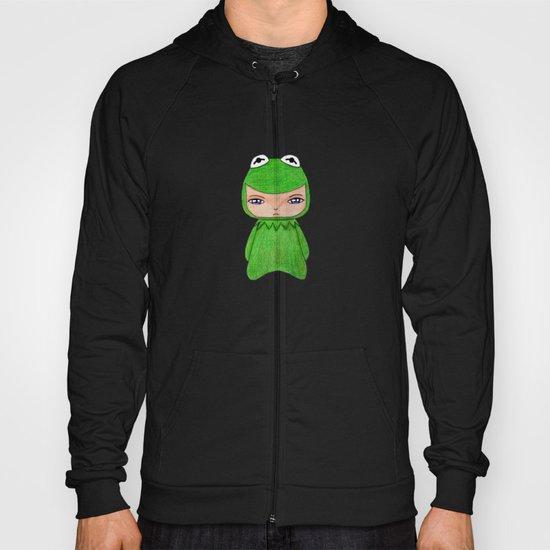 A Boy - Kermit the frog Hoody