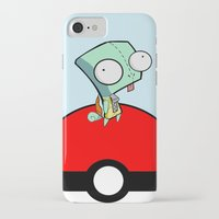 squirtle iPhone & iPod Cases featuring GIR Squirtle  by Diffro