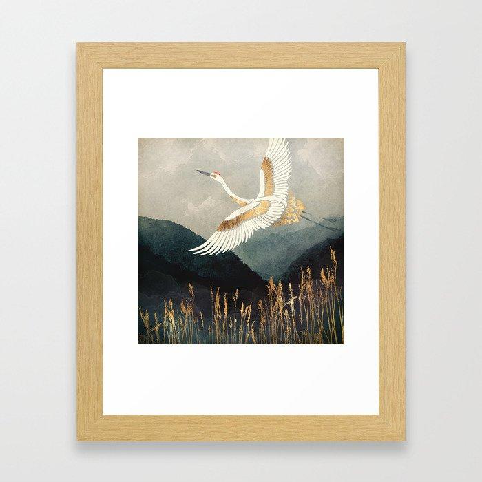 Elegant Flight Gerahmter Kunstdruck
