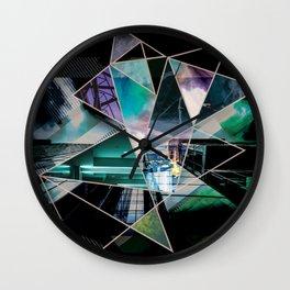 Leng Pattern 6ii Wall Clock
