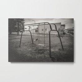 Old Playground, Kathryn, North Dakota Metal Print