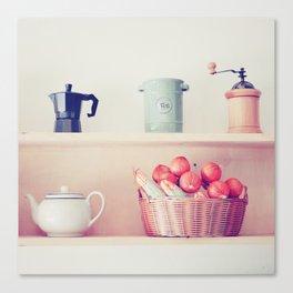 Coffee or Tea Canvas Print