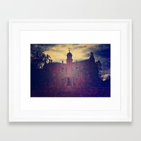 haunted mansion Framed Art Prints featuring Haunted Mansion by BreatheinStandstill