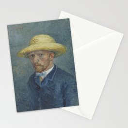Portrait of Theo van Gogh Stationery Cards