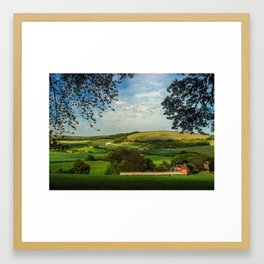 North Wessex Downs Framed Art Print