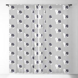 Old English Sheepdog Blackout Curtain