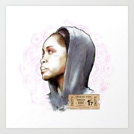Erykah Badu | Window Seat Art Print