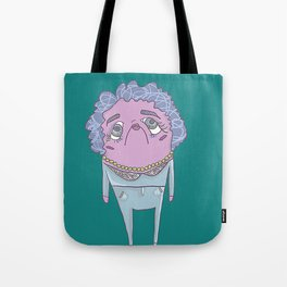 grandma fishin Tote Bag