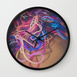 String Wall Clock