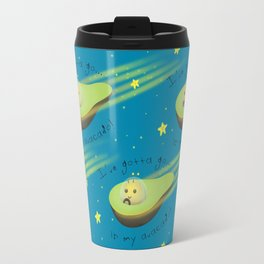 Avacado in Space Travel Mug