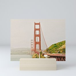 Golden Gate Bridge III Mini Art Print