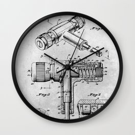 Torque Wrench Wall Clock