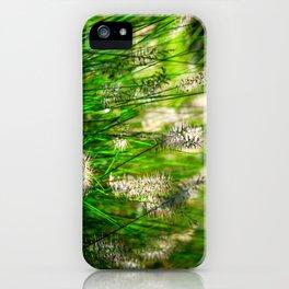 Grass (1) iPhone Case