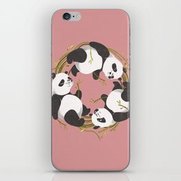 Panda dreams iPhone Skin
