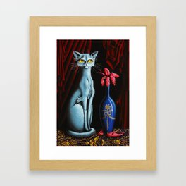 Two vases Framed Art Print