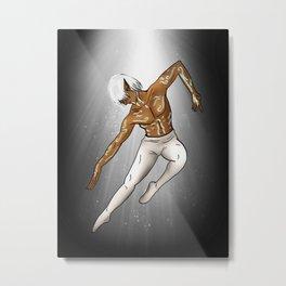 Fenris the Ballet Star Metal Print