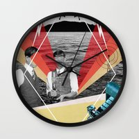 science Wall Clocks featuring Science by Chris Newton