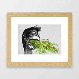 Hurl Framed Art Print