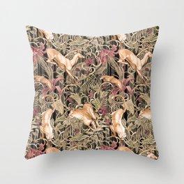 Wild life pattern Throw Pillow