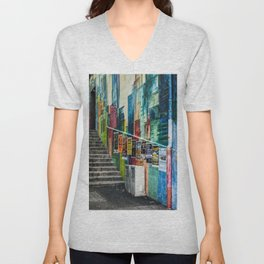 Basel Walls Unisex V-Neck