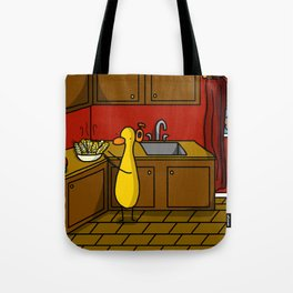 Cooking in the Kitchen Tote Bag