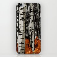birch iPhone & iPod Skins featuring Birch by LeahOwen