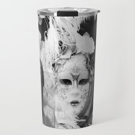 Venetian carnival mask D - Lady Nature Travel Mug
