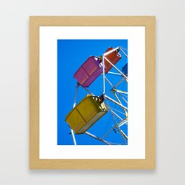 Ferris_Wheel - 3, Northern Michigan Framed Art Print