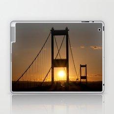 Severn Bridge Sunset Laptop & iPad Skin