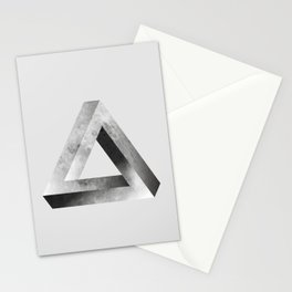 Mystical Impossible Triangle Stationery Cards