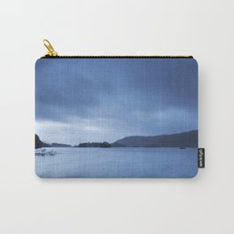 Sky over Lake Windermere. Low Millerground, Windermere, Lake District, UK in Autumn Carry-All Pouch