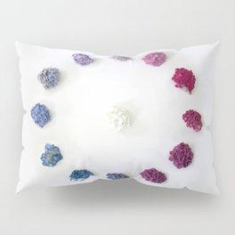 Circle of Hydrangea Pillow Sham