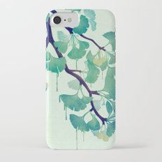 O Ginkgo (in Green) iPhone 7 Slim Case