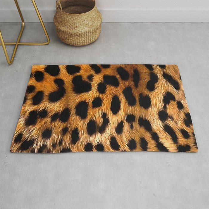 Vegan Leopard Skin Animal Fur Design