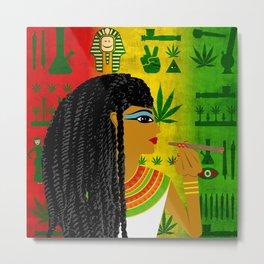 Cleopotra Reggae #1 Metal Print