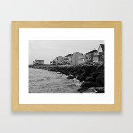 Grandview Beach Framed Art Print