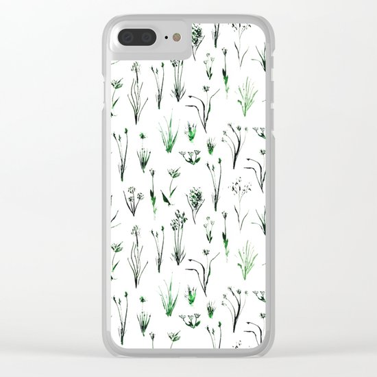Green and fresh Clear iPhone Case