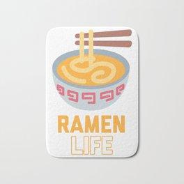Ramen Life product Classic Anime Design for Students Bath Mat